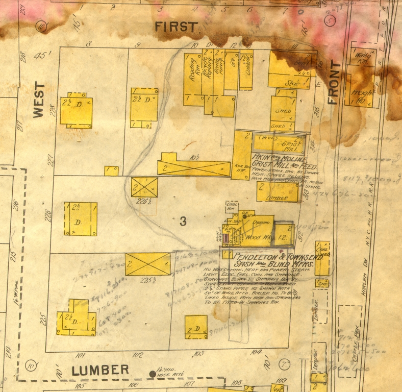 2. Business location before 1902 fire
