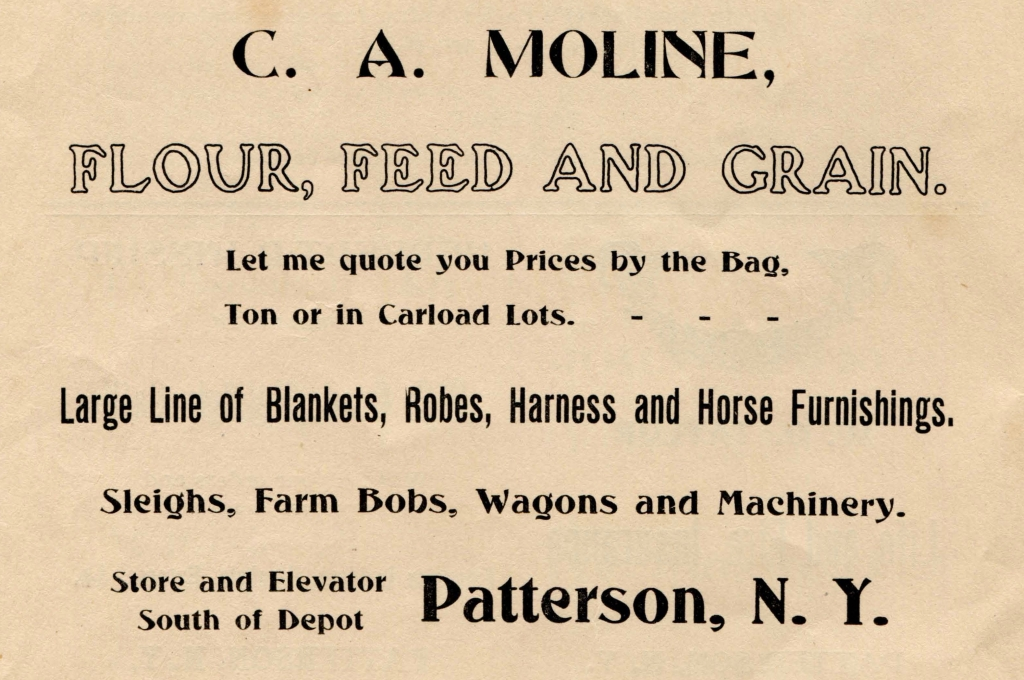 """6. Ad from playbill for """"Ladies of Cranford"""" 1910-12-13"""